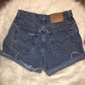 Levi's Shorts - Vintage Distressed Levi's Cut off Shorts